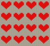 Teste padrão do coração Foto de Stock Royalty Free