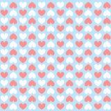 Teste padrão do coração ilustração do vetor