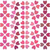 Teste padrão do coração, fundo com corações Fotografia de Stock