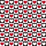 Teste padrão do coração sem emenda Imagem de Stock Royalty Free