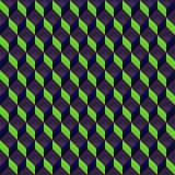 Teste padrão do cubo Fotografia de Stock