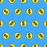 Teste padrão do dólar Foto de Stock