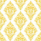 Teste padrão do damasco Imagens de Stock Royalty Free