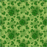 Teste padrão do dia do ` s de St Patrick Imagens de Stock