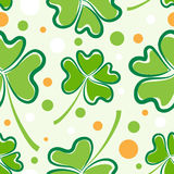 Teste padrão do dia do St. Patrick Foto de Stock
