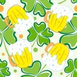 Teste padrão do dia do St. Patrick Foto de Stock Royalty Free