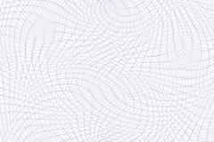 Teste padrão do dinheiro do Guilloche ilustração do vetor