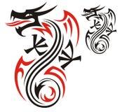 Teste padrão do dragão Fotos de Stock Royalty Free