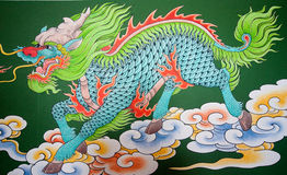 Teste padrão do dragão Imagens de Stock Royalty Free