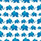 Teste padrão do elefante Imagem de Stock