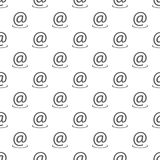 Teste padrão do endereço email sem emenda ilustração do vetor