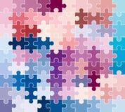 Teste padrão do enigma de serra de vaivém Foto de Stock Royalty Free