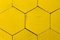 Teste padrão do favo de mel Foto de Stock