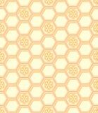 Teste padrão do favo de mel Foto de Stock Royalty Free