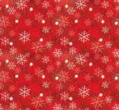 Teste padrão do floco de neve do Natal Imagem de Stock Royalty Free