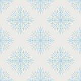 Teste padrão do floco de neve - teste padrão do vetor do floco de neve Fotografia de Stock
