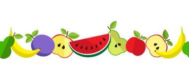 Teste padrão do fruto de PrintTasty na linha Imagem de Stock Royalty Free