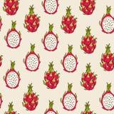 Teste padrão do fruto do dragão Imagem de Stock