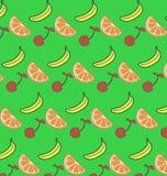 Teste padrão do fruto fresco Imagens de Stock