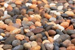 Teste padrão do fundo de pedras bonitas da cor foto de stock royalty free