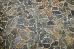Teste padrão do fundo do assoalho da pedra do estilo do vintage Foto de Stock Royalty Free
