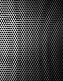 Teste padrão do fundo do metal Imagens de Stock