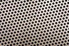Teste padrão do fundo do metal Imagem de Stock