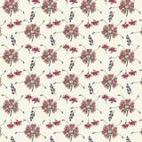 Teste padrão do fundo do vetor da flor Ilustração Royalty Free