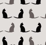 Teste padrão do gato Fotografia de Stock Royalty Free