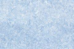 Teste padrão do gelo no fundo sem emenda da janela Fotos de Stock