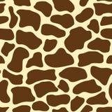 Teste padrão do girafa Fotos de Stock