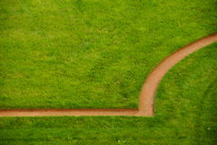 Teste padrão do gramado Foto de Stock