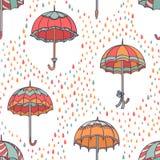 Teste padrão do guarda-chuva Imagem de Stock