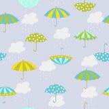 Teste padrão do guarda-chuva Imagem de Stock Royalty Free