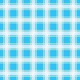 Teste padrão do guingão de turquesa, ilustração sem emenda do vetor do fundo Fotografia de Stock