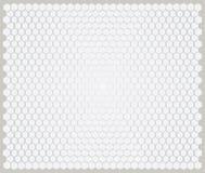 Teste padrão do hexágono, arte finala do fundo Fotos de Stock