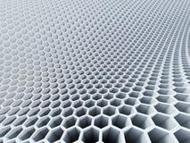 teste padrão do hexágono 3d Imagem de Stock Royalty Free