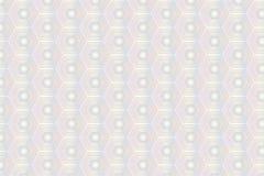 Teste padrão do hexágono do mosaico ilustração do vetor