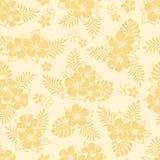 Teste padrão do hibiscus Imagens de Stock Royalty Free