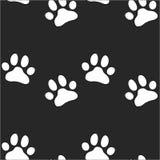 Teste padrão do jardim zoológico da pata para o animal e a matéria têxtil Imagem de Stock Royalty Free