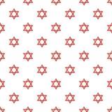 Teste padrão do judaism da estrela de David sem emenda ilustração royalty free
