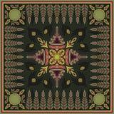 Teste padrão do lenço Foto de Stock
