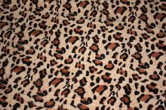 teste padrão do leopardo na cobertura da tela imagem de stock
