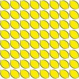 Teste padrão do limão Fotografia de Stock Royalty Free