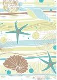 Teste padrão do mar Imagem de Stock