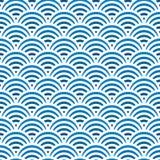 Teste padrão do mar Foto de Stock