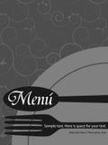 Teste padrão do menu Imagem de Stock Royalty Free