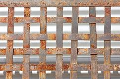 Teste padrão do metal da oxidação fotografia de stock
