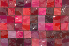 Teste padrão do mosaico ilustração stock
