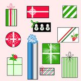 Teste padrão do Natal Fotos de Stock Royalty Free